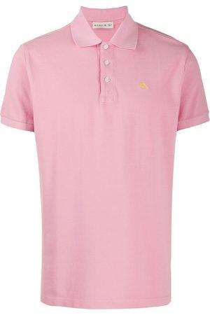 Etro Homem Formal - Embroidered-logo polo shirt