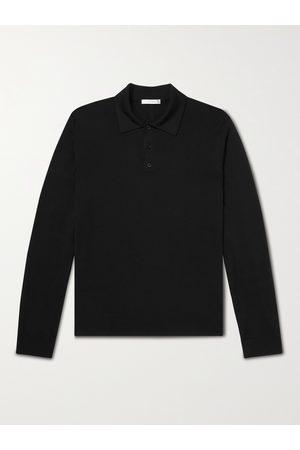 The Row Diego Merino Wool Polo Shirt