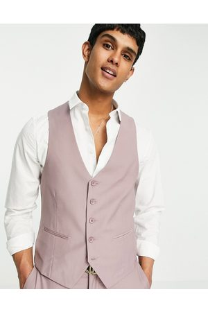 New Look Homem Fatos - Suit waistcoat in pale pink