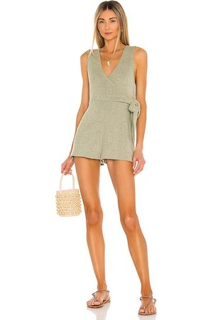 MINKPINK Malika Wrap Playsuit in - . Size L (also in S, XS, M).