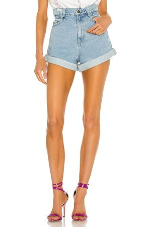 Retrofete Haisley Shorts in - Blue. Size 24 (also in 25, 26, 27, 28, 29, 30).