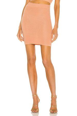 Michael Costello X REVOLVE Ambrose Mini Skirt in - . Size L (also in XXS, XS, S, M, XL).