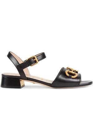 Gucci Senhora Sandálias - Horsebit strap buckle-fastening sandals