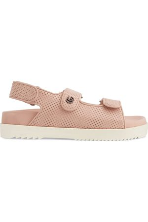 Gucci Double G touch-strap sandals