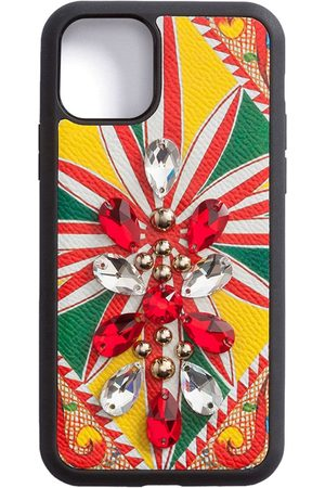 Dolce & Gabbana Crystal-embellished iPhone 11 Pro case