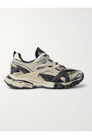 BALENCIAGA Homem Ténis - Track.2 Nylon, Mesh and Rubber Sneakers