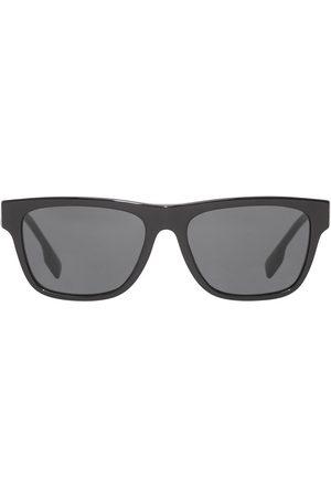 Burberry Logo-detail square-frame sunglasses