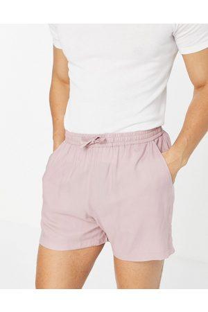 New Look Homem Calções - Pull on shorts in pink