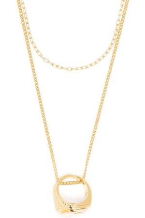 AMBUSH Misfit ring necklace