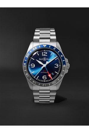 Bell & Ross Homem Relógios - BR V2-93 Automatic 41mm Stainless Steel Watch, Ref. No. BRV293-BLU-ST/SST
