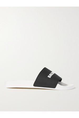 Balenciaga Homem Sapatos - Logo-Detailed Rubber Slides