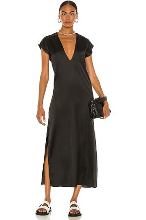LBLC The Label Cautilina Deep V Dress in - . Size L (also in XS, S, M).