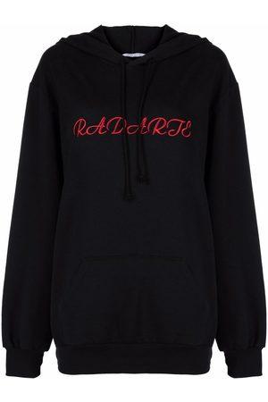 RODARTE Senhora Tops de Cavas - Logo-embroidered hoodie