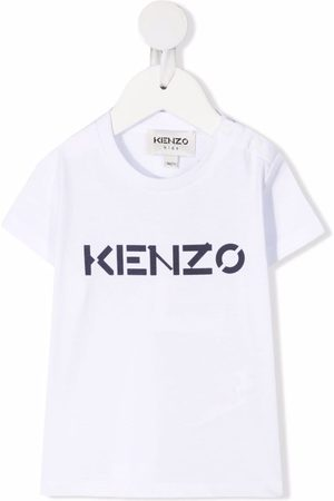 Kenzo Kids Bebé T-shirts & Manga Curta - Logo-print T-shirt
