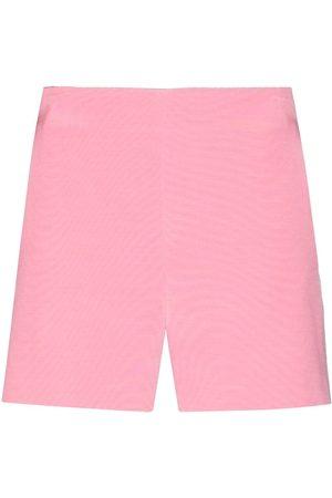 VALENTINO High-rise tailored shorts
