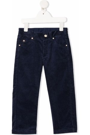 Mini Rodini Corduroy straight-leg trousers