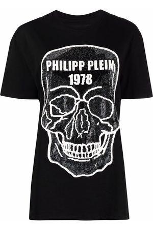 Philipp Plein Skull-embellished round-neck T-shirt