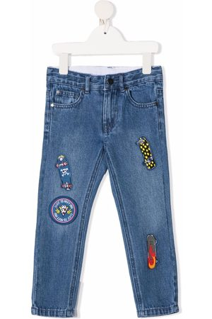 Stella McCartney Multi-patch slim-fit jeans