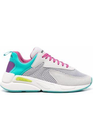 Diesel Senhora Ténis - Colour-block high top sneakers