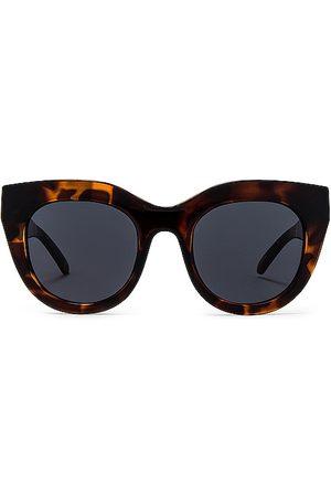 Le Specs Senhora Óculos de Sol - Air Heart Sunglasses in - Black. Size all.