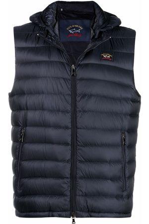 Paul & Shark Detachable-hood ultralight vest