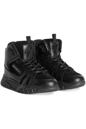 Giuseppe Zanotti Talon Jr leather high-top sneakers