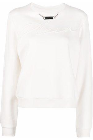 Philipp Plein Embroidery Signature leisure sweatshirt