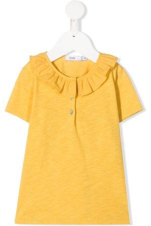 KNOT Leslie ruffled-collar top
