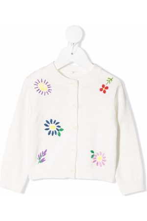 Stella McCartney Embroidered floral cardigan