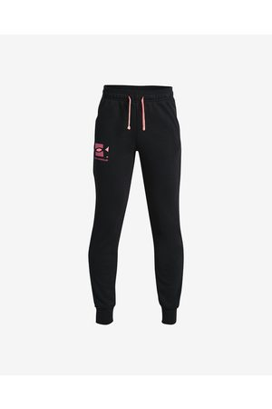 Under Armour Rival Terry Kids Joggings Black