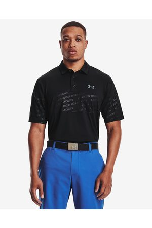 Under Armour Playoff 2.0 Blocked Polo T-shirt Black