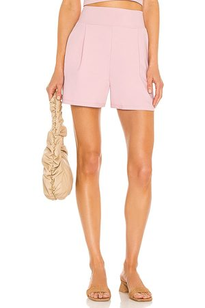 Susana Monaco Tailored Short in - Pink. Size L (also in XS, S, M).