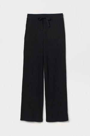H&M Senhora Calças - Calças de pijama caneladas