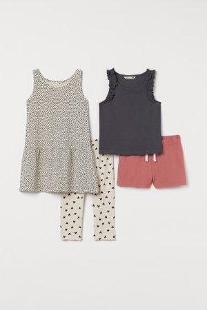 H&M Criança Sets - Conjunto de 4 peças em algodão