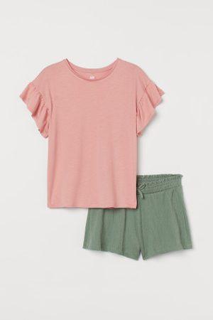 H&M Criança Sets - Conjunto de 2 peças em jersey