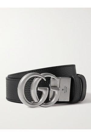 GUCCI Homem Cintos - 3.5cm Reversible Full-Grain Leather Belt