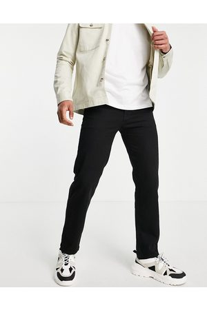 Topman Homem Retos - Straight jeans in black