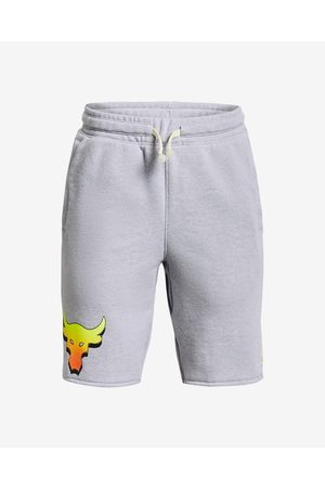 Under Armour Project Rock Kids Shorts Grey