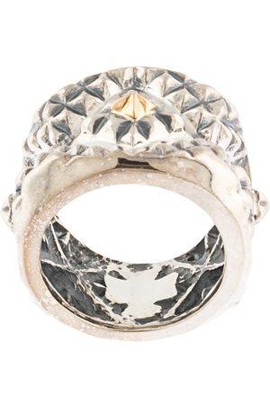 Natural Instinct Homem Anéis - Geometric pattern ring