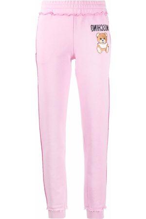 Moschino Teddy Bear motif track pants