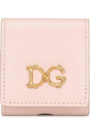 Dolce & Gabbana Senhora Phones - Logo-plaque AirPods case