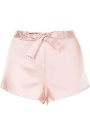 Gilda & Pearl Sophia stretch-silk shorts