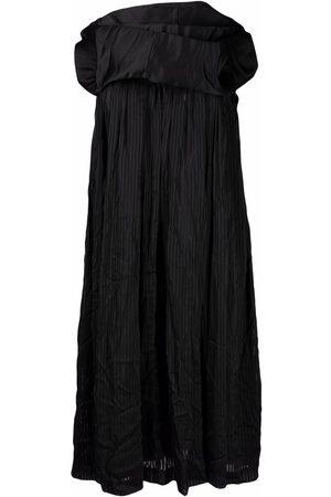 Comme des Garçons Drape-design sleeveless dress