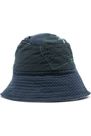 BY WALID Homem Chapéus - Patchwork-design bucket hat