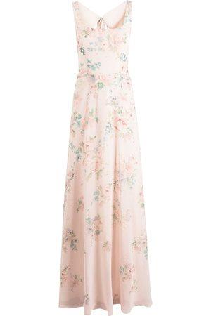 Marchesa Notte Senhora Vestidos de Festa - Sorrento floral-print dress