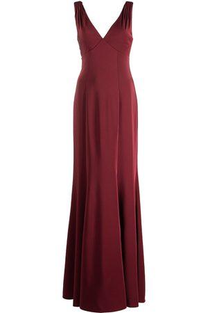 Marchesa Notte Forli V-neck bridesmaid gown