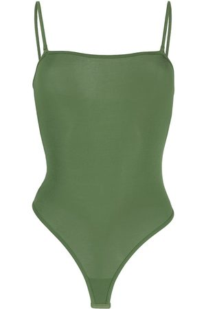 MAISON CLOSE Senhora Bodies interiores - Sleeveless modal bodysuit