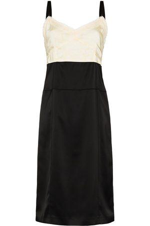 Commission Panelled midi dress