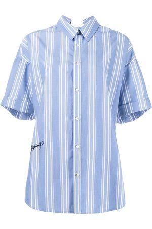 Izzue Pinstriped short sleeve shirt
