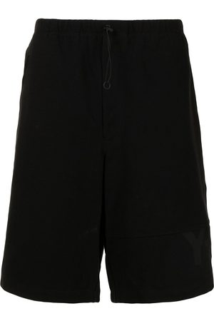 Y-3 Knee-length drawstring shorts